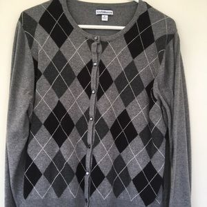 Perfect Argyle sweater from Croft & Barrow.